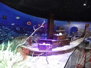 Reef exhibit at the islet