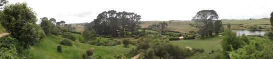 A view of Hobbiton